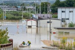 """Siêu bão Hagibis: Chính phủ Nhật Bản đưa vào danh mục """"thảm họa bất thường"""""""