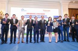 Vietravel đạt giải The Leading Outbound Tour Operator for Taiwan Market 2019
