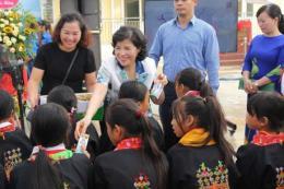 Lan tỏa chương trình sữa học đường