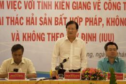 Phó Thủ tướng Trịnh Đình Dũng: Phải chấm dứt ngay khai thác hải sản bất hợp pháp