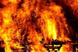 Cháy lớn tại Khu Công nghiệp Chơn Thành, Bình Phước