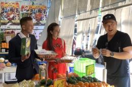 Sầu riêng Việt Nam ra mắt người tiêu dùng Australia