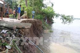 An Giang ban bố tình huống khẩn cấp sạt lở bờ sông Tiền