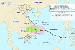 Bão số 5 di chuyển chậm hơn, tiến sát Quảng Ngãi đến Khánh Hòa