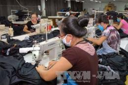Ngân hàng tăng cấp vốn cho doanh nghiệp dệt may