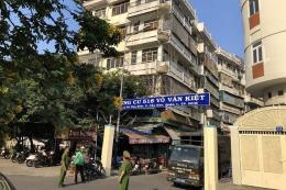 Tp. Hồ Chí Minh phá dỡ Lô E chung cư 518 Võ Văn Kiệt