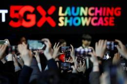 Số người dùng mạng 5G tăng nhanh ở Hàn Quốc