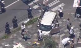Nhiều người nhập viện sau vụ lao xe vào nhóm trẻ ở thủ đô Tokyo, Nhật Bản