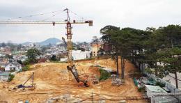 Đà Lạt xử phạt doanh nghiệp xây dựng công trình không có giấy phép