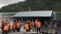 Tạm giữ hình sự các đối tượng ném bom xăng vào người thi hành công vụ ở Quảng Ninh