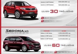 Cập nhật bảng giá xe Kia tháng 11/2019, ưu đãi đến 60 triệu đồng