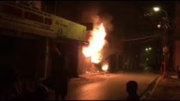 Hỏa hoạn thiêu rụi toàn bộ một cửa hàng Viettel ở Đầm Dơi, Cà Mau