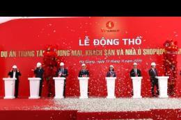 Động thổ tòa tháp trung tâm thương mại, khách sạn cao nhất tỉnh Hà Giang