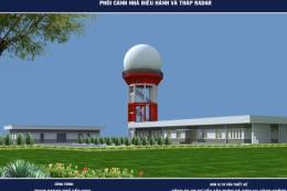Quản lý bay khởi công xây dựng Trạm Radar Vinh trị giá trên 128 tỷ đồng