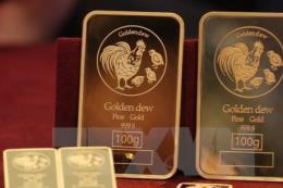 Giá vàng châu Á thoát khỏi mức thấp của hai tuần