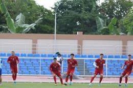SEA Games 30: U22 Việt Nam tập buổi cuối, sẵn sàng cho trận đấu với U22 Brunei