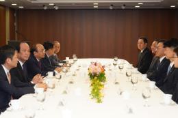 Thủ tướng tiếp Tổng lãnh sự danh dự khu vực Busan – Keangnam