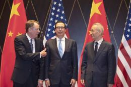 """Giới chức Mỹ-Trung: Ít khả năng tiến tới thỏa thuận thương mại """"giai đoạn 2"""""""