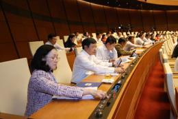 Hôm nay, Quốc hội biểu quyết sáu Luật, Nghị quyết