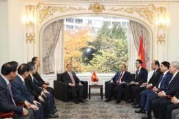 Thủ tướng Nguyễn Xuân Phúc tiếp Chủ tịch Hội Hữu nghị Hàn – Việt