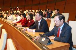 Quốc hội thông qua 3 Nghị quyết