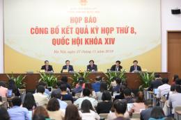 Quốc hội hoàn thành chương trình nghị sự với nhiều nội dung quan trọng