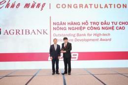 Agribank giành hai giải thưởng uy tín của ngành ngân hàng
