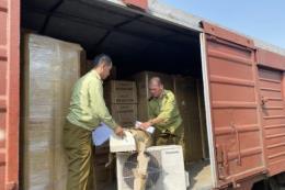 Phát hiện hàng trăm cục điều hòa, tủ lạnh trên toa tàu hoả có dấu hiệu nhập lậu