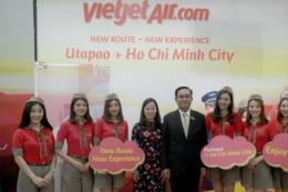 Vietjet ra mắt đường bay mới Tp. Hồ Chí Minh – Pattaya