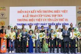 Tôn vinh Thương hiệu Việt uy tín lần thứ 15