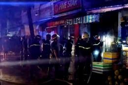 Cháy nhà trong đêm, 3 người thiệt mạng