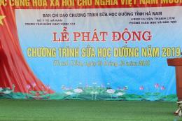 Hà Nam phát động Chương trình Sữa học đường