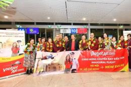 Vietjet Air khai trương hai đường bay thẳng từ Việt Nam tới Ấn Độ