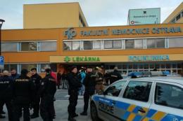 Xả súng tại bệnh viện ở Séc: 4 người thiệt mạng