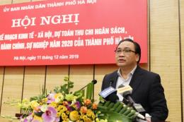 Hà Nội: Mục tiêu GRDP tăng từ 7,5% trở lên trong năm 2020