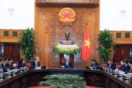 Thủ tướng Nguyễn Xuân Phúc tiếp Đoàn Uỷ ban Kinh tế Nhật - Việt