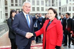 Chủ tịch Hạ viện Belarus ấn tượng về thành tựu kinh tế-xã hội của Việt Nam