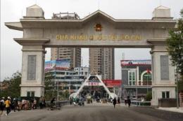 Từ 1/1/2020, cấm phương tiện qua cửa khẩu quốc tế Lào Cai - Hà Khẩu