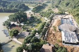 Xử lý hành vi xây dựng sai phép tại Khu du lịch Thung Nham