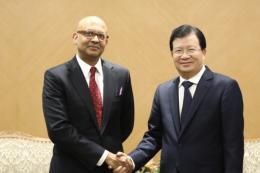Thúc đẩy hợp tác giữa WB và Việt Nam trong phát triển năng lượng