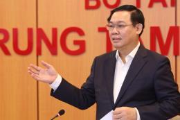 PTT Vương Đình Huệ chủ trì họp Hội đồng tư vấn chính sách, tài chính, tiền tệ quốc gia