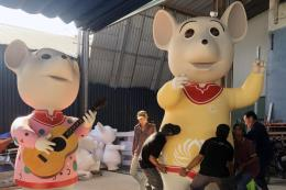 Tp Hồ Chí Minh chuẩn bị đường hoa Nguyễn Huệ Xuân Canh Tý 2020