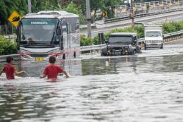 Lũ lụt nghiêm trọng tại thủ đô Jakarta