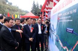 Lào Cai khởi công xây cầu Móng Sến