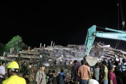 Nhiều người tử vong trong vụ sập công trình tại Campuchia