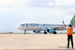 Bình Định: Sân bay Phù Cát đón chuyến bay quốc tế đầu tiên