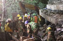 Campuchia kết thúc chiến dịch cứu hộ, cứu nạn công trình sập ở Kep