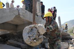 Vụ sập nhà ở Campuchia: Bắt các đối tượng liên quan