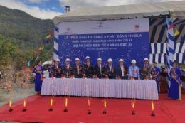 EVN xây dựng cụm công trình cửa xả thủy điện tích năng Bác Ái
