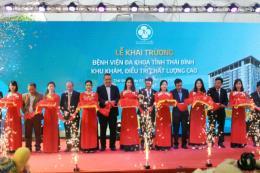 Thái Bình: Khai trương Khu khám, điều trị chất lượng cao theo mô hình quốc tế